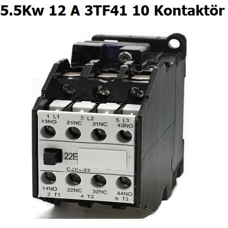 Siemens 12 A K0Ntaktör