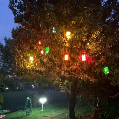 Zerpa 13300 Ağaç Feneri Plastik - Soft Beyaz