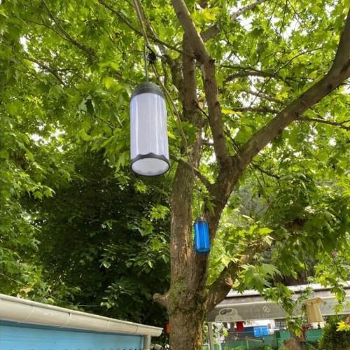Zerpa 13304 Ağaç Feneri Plastik - Kırmızı
