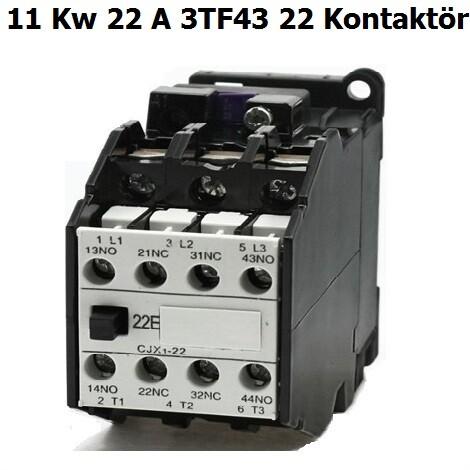 Siemens 22 A Kontaktör