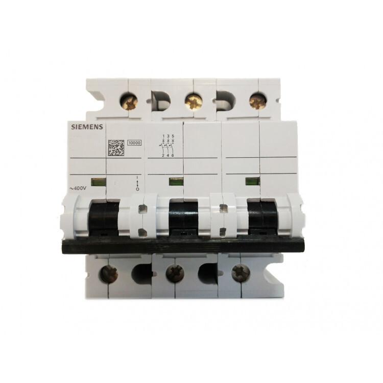 Siemens 3*125 W Otomat 10 Ka C Tipi