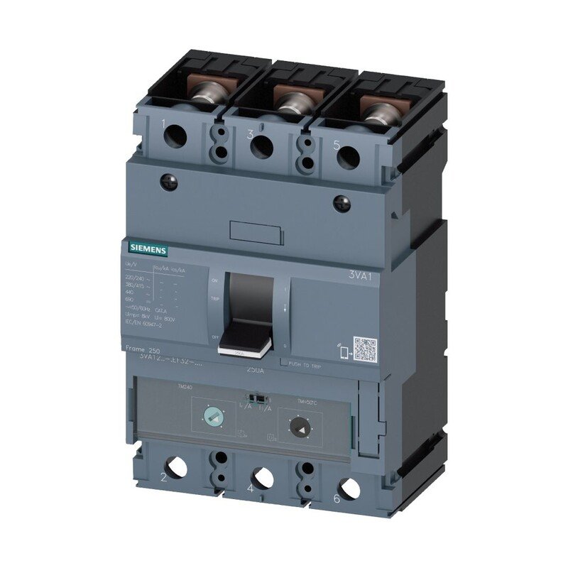Siemens 3*140 - 200 Termik Manyetik Şalter 36Ka
