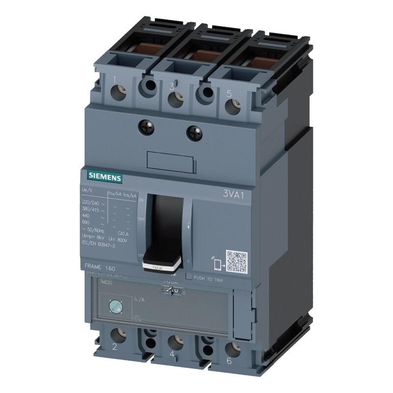 Siemens 3*44 - 63Termik Manyetik Şalter 36Ka