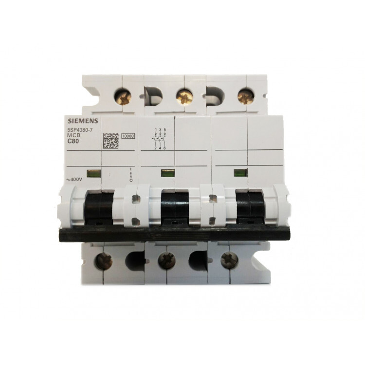 Siemens 3*80 W Otomat 10Ka C Tipi