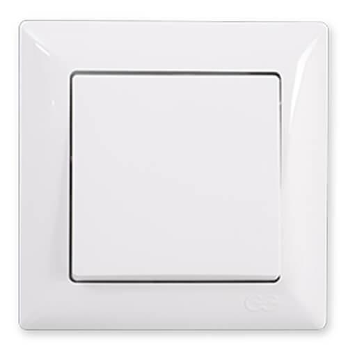 Günsan Visage Beyaz Anahtar - Çerçevesiz