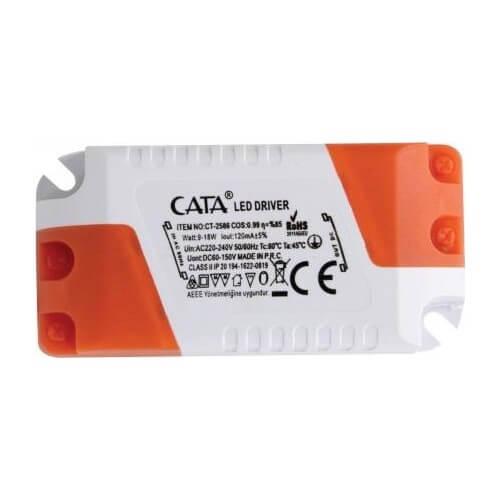 Cata CT-2516 Slim ve Sıva Üstü Panel Driver 9-18 W
