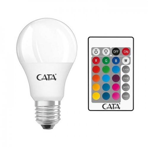 Cata CT-4058G 9W RGB Uzaktan Kumandalı Led Ampul Günışığı