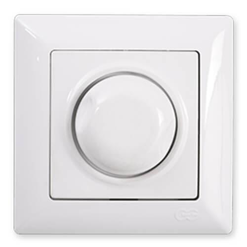 Günsan Visage Beyaz Dimmer (1000W) - Çerçevesiz
