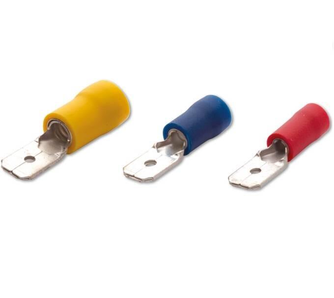 Şafak Erkek Faston Tip İzoleli Kablo Uçları