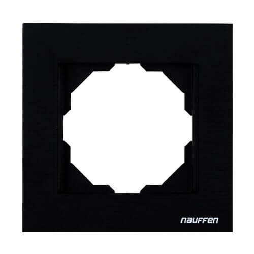 Nauffen Koyu Siyah Tekli Çerçeve