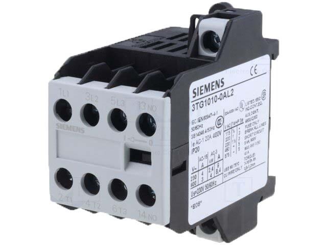 Siemens Mini Kontaktör 3Tg1001-0Al2