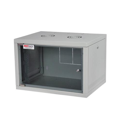 Bestrack Silver Duvar Tipi Rack Kabinet 09U 600*450