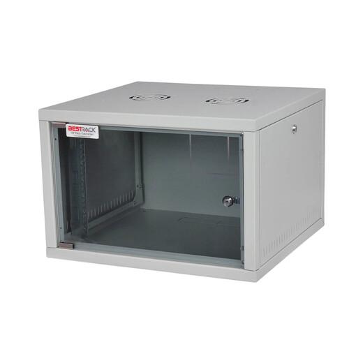 Bestrack Silver Duvar Tipi Rack Kabinet 09U 600*560
